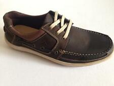 New Colorado Men Casual Leather Comfort Lace Shoe/Loafer Brown Sz 8/9/10/11/12