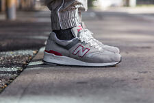 MENS NEW BALANCE NB 997 GREY M997CGR MADE IN USA CASUAL RUNNING SHOES SZ 7.5 10