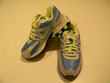 New Girls NIKE REAX RUN DOMINATE Running Athletic Shoes Blue Gray Green