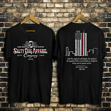 Thin Red Line Twin Towers FDNY Firefighter t-shirt