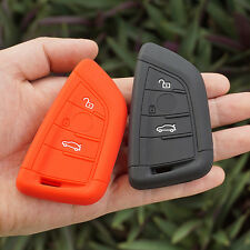 Silicone car key cover case for bmw X5 X6 new remote control protector