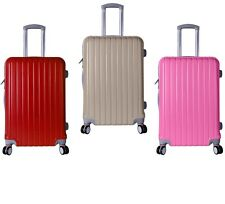 """20"""" 24"""" 28"""" Luggage Travel Set ABS Trolley Spinner Suitcase Hard Case US Ship"""