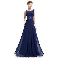 Long Chiffon Bridesmaid Dress Evening Formal  Prom Dresses Party Ball Gown 6/20
