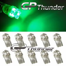 LOT OF 10 GP Thunder 194 168 2825 M158 RED OR GREEN LED Light Bulbs for Map Dome