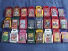 REFD:TOP TRUMPS:BUY INDIVIDUALLY,24 TITLES TO CHOOSE FROM DROP DOWN MENU