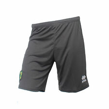 OFFICIAL NORWICH CITY FOOTBALL CLUB 2015-16 PLAYER WORN GOALKEEPER SHORTS
