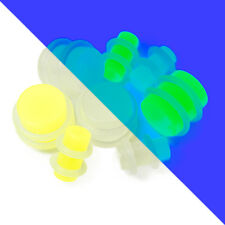 Glow in the Dark Acrylic Plugs 1 Pair