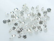 Real 100% Natural Loose Round Diamonds 0.90 To 1.60 MM VS-SI,G-H 25 pcs N17