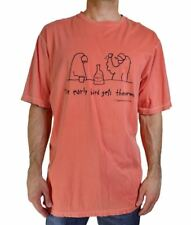 NEW TOMMY BAHAMA MEN'S S/S CREWNECK 'EARLY BIRD GETS THE WORM' T-SHIRT ORANGE