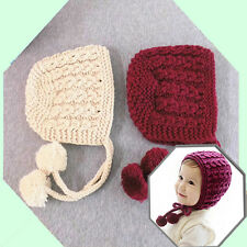 Hot Baby Toddler Kids Girls Boys Winter Ear Flap Warm Hat Beanie Cap Crochet