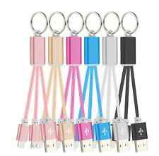 Chic 2in1 Micro USB Sync Data Charger Adapter Cable Cord For Iphone Samsung HTC