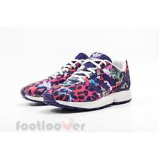 Shoes Adidas Originals ZX Flux J s76286 Running Girl's Sneakers Mesh Multicolor