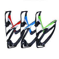 1x Full Carbon Fiber Bicycle Cycling Bike Light Drink Water Bottle Cage Holder