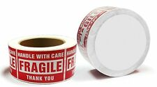 1-20 Rolls 3 x 5 Fragile Stickers Handle with Care Labels 500/Roll Free Shipping