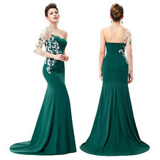 Sexy Mermaid Long Prom Ball Wedding Dress Formal Party Pageant Evening Gown