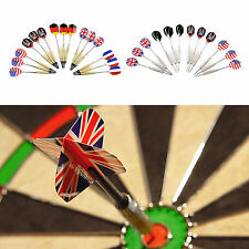 12pcs/15pcs Darts with National Flag Flights, Flights and Barrels Detachable