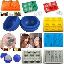 8 Styles Star Wars Silicone Ice Cube Tray Chocolate Fondant Cake Mold