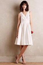 $168 New Anthropologie Pleated Trellis Dress by Collette Dinnigan Sold Out