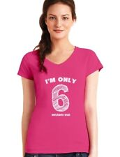 I'm Only 6 Decades Old - Funny 60th Birthday Gift Idea V-Neck Women T-Shirt