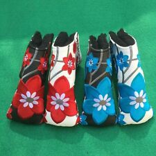 Flowers Golf Putter Cover Headcover For Scotty Cameron Ping Callaway Taylormade