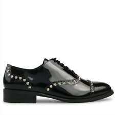 Wittner Ladies Shoes Black Patent Flats
