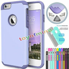 Shockproof Silicone rubber Hybird Hard case cover for iPhone  6/6S Plus Gen