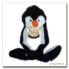 NEW Animal Winter Hats * PENGUIN * Mascot Fancy Costume Mask Hat Cap Glove. CUTE