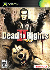 Dead to Rights II (Microsoft Xbox, 2005) Factory Sealed New