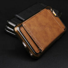 Luxury Leather Wallet Card Holder Back Stand Cover Case For iPhone 6 /6S Plus