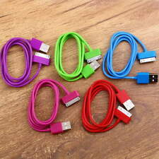 USB Charger Sync Data Cable for iPad2 3 For iPhone 4 4S 3G 3GS iPod Nano Fashion