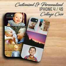 CUSTOM IPHONE 4 CASE | IPHONE 4S COLLAGE COVER | CUSTOM PHOTO | MAKE YOUR OWN
