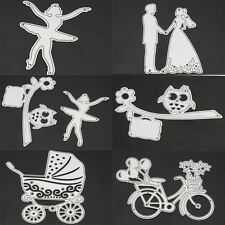 DIY Cutting Dies Stencil For Embossing Scrapbooking Cards Decor Paper Craft xg