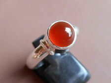 Awesome Balinese Carnelian Ring/ Sterling Silver 925/ Handmade Jewellery