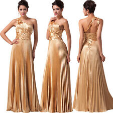 Sexy Long Satin Evening Formal Party Cocktail Bridesmaid Wedding Prom Gown Dress