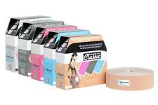 AUTHENTIC KINESIO TEX  CLASSIC TAPE BULK 2in x 34yds KINESIOLOGY TAPE ALL COLORS