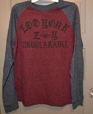 Zoo York   Mens  Long Sleeve T-Shirt  Size L   NWT UNBREAKABLE