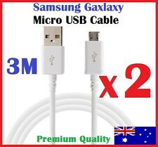 3M Micro USB Charging Data Cable for Samsung Galaxy S7 S6 S5 S4 3 Note 4 5 Nokia