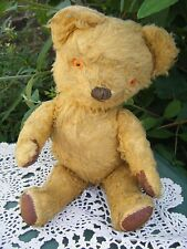Vintage Chad Valley Jointed Teddy Bear with Label 12