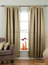 Olive Green Tab Top 90% blackout Curtain / Drape / Panel  - Piece