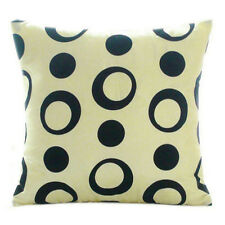 LOTS Home Decorative Linen Cotton Blended Cushion Cover Throw Pillow Case AS