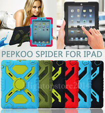 """Original """"Pepkoo"""" Defender Military Heavy Duty Stand Case For iPad Air iPad 5"""