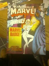 Mighty world of marvel no10-moore davis captain britain!from 1983