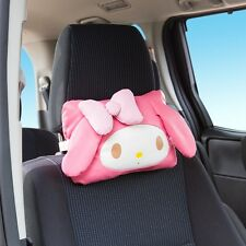 Hello Kitty My Melody Car Seat Neck Head Cushion Cover Sanrio from Japan S5368