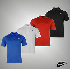 Mens Nike Golf Polo Shirt Dri-Fit Fabric Size S M L XL XXL