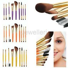 9pcs Cosmetic Foundation Makeup Brush Set Eyeshadow Brow Liner Lip Brushes