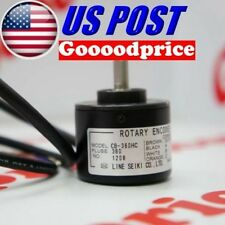 Line Seiki Rotary Encoder CB 100-1000PPR Model Open Collector #FAST SHIPPING#