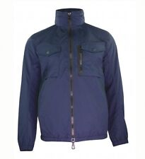 Duck And Cover Men's Crome Navy Light Weight Utility Jacket