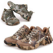 Mens Tactical Military Assault Work Camo Hiking Hunting Training Trekking Shoes