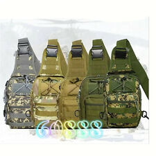 New 1000D Molle Tactical Utility 3 Ways Shoulder Bag Pouch Backpack outdoor