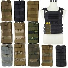 Molle Tactical Single Rifle Mag Magazine Pouch Open Top Bag For M4/M16 5.56 .223